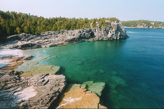 Tobermory northern Ontario