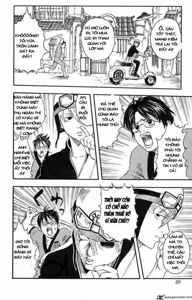 Gintama chap 1 Trang 16