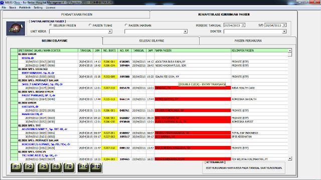 software rumah sakit marsonline pelayanan pasien rawat jalan