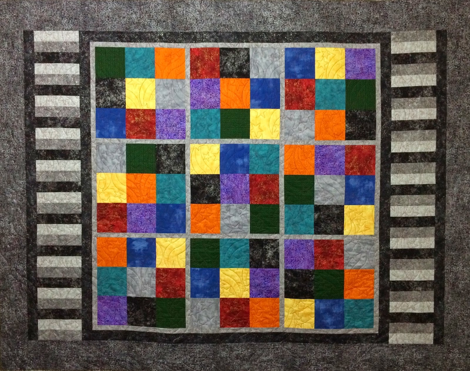 Sally Krebs Husband Quilt