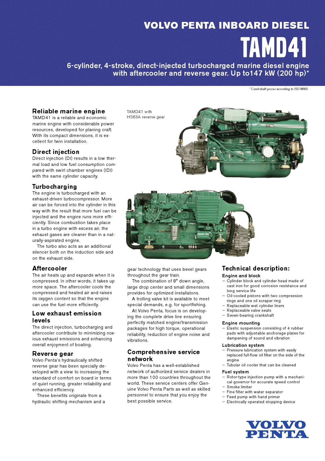 volvomanuals free volvo penta inboard diesel manual pdf rh volvomanuals  blogspot com Volvo Penta Control Box Volvo Penta Engine Diagram