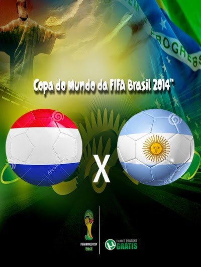 Holanda x Argentina Semi Final Copa do Mundo 2014