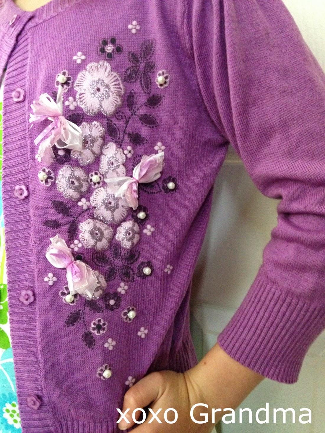 http://xoxograndma.blogspot.com/2015/01/glamorize-sweater-tutorial.html