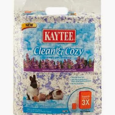 Kaytee Clean   Cozy Lavender Scented Animal Bedding. The Wiccan Life  Sam s New Bunny Bedding