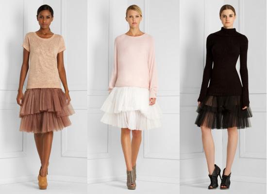 Балетные юбки шопеновки