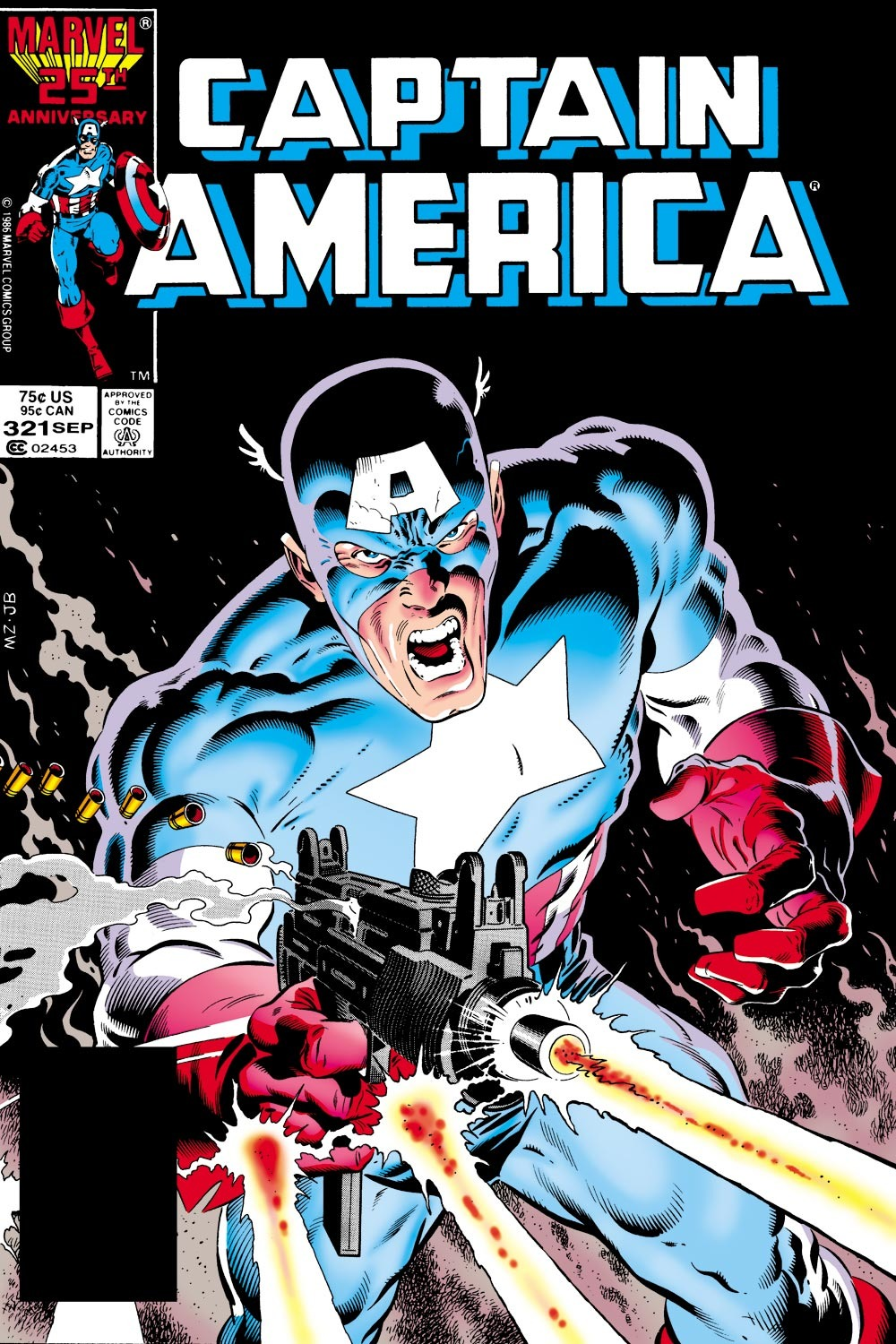 Captain America (1968) Issue #321 #249 - English 1