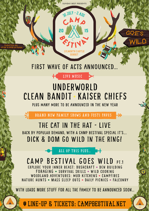 Line up Camp Bestival 2015