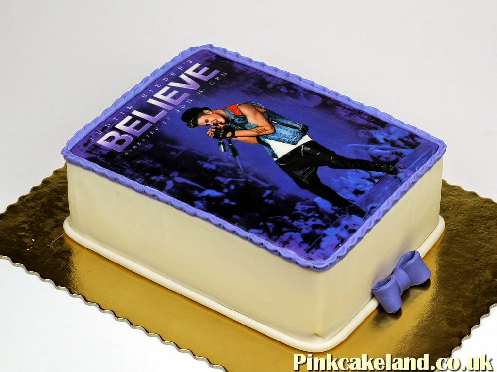 Justin Bieber Birthday Cake - Best Photo Cakes in London