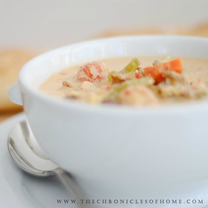 The Chronicles of Home: Lobster Corn Chowder