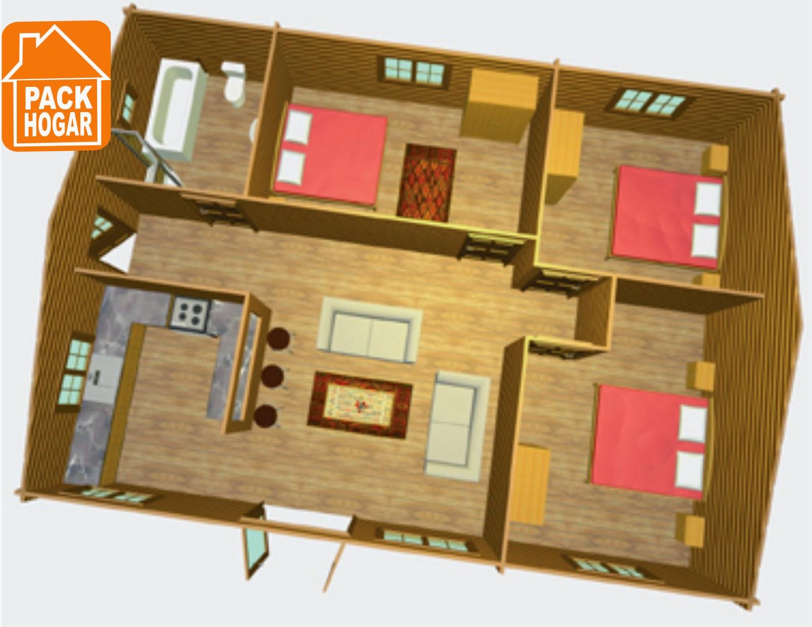 Casas prefabricadas planos de casas prefabricadas para - Casas prefabricadas para el campo ...