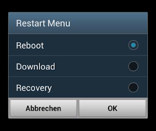 galaxy s3 extended power menu