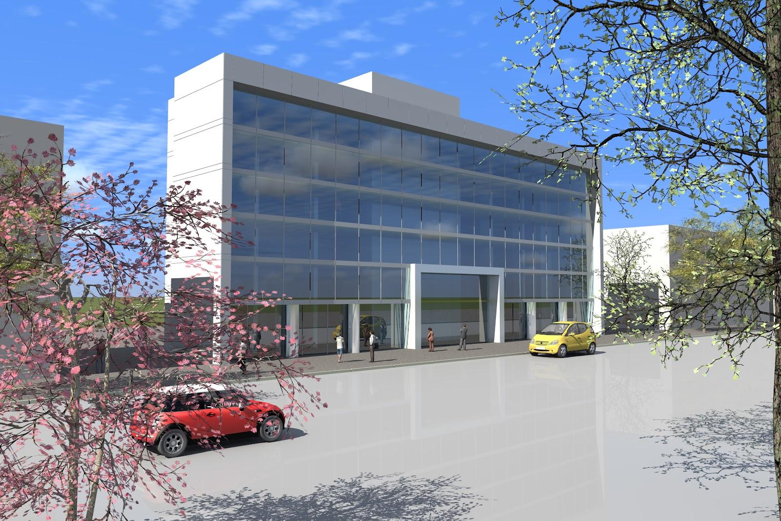 Aog arquitectura y construcci n edificio oficinas mujica for Arquitectura y construccion