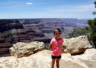 It's the Grand Canyon! Just as big and beautiful as I remembered it.