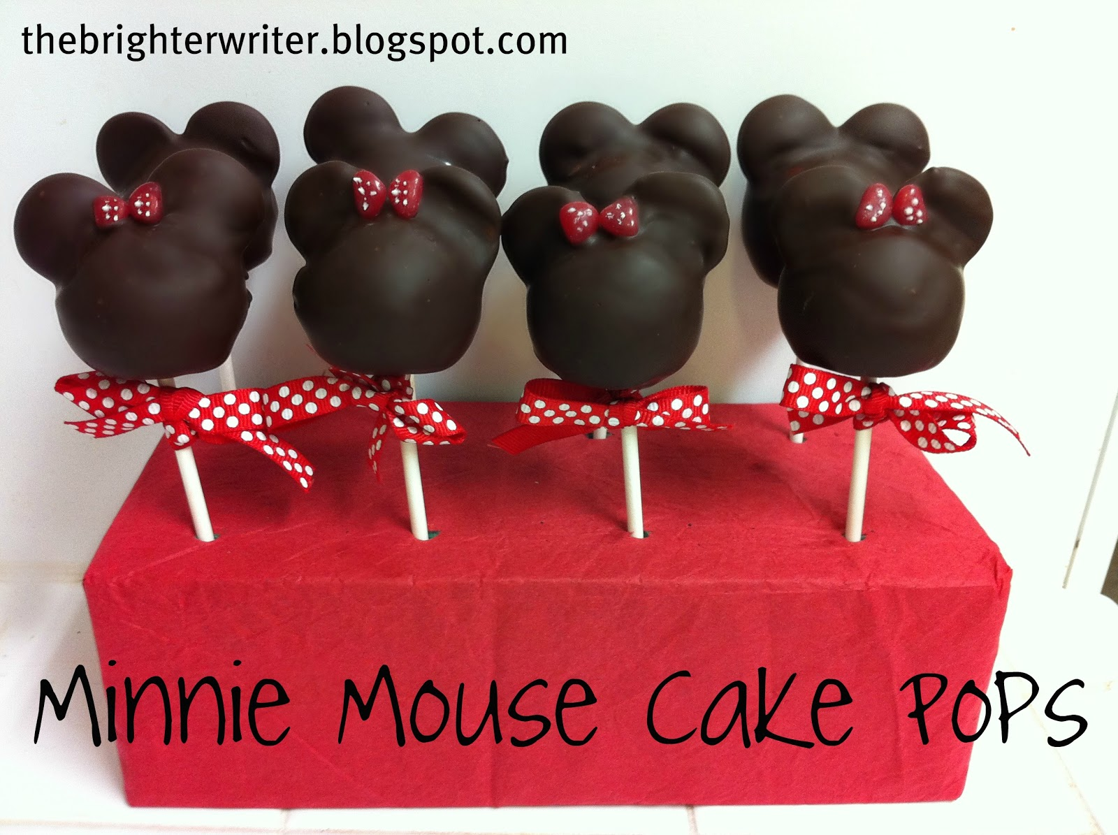 Mickey Mouse Cake Pops Tutorial Minnie Mouse Cake Pops
