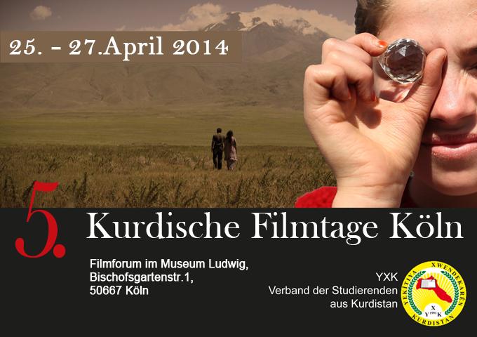 5.Kurdische Filmtage Köln - Rojên Fîlmên Kurdî   April 2014
