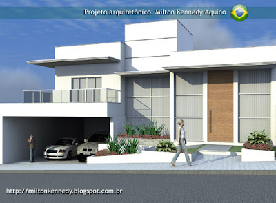Projeto casa contemporânea