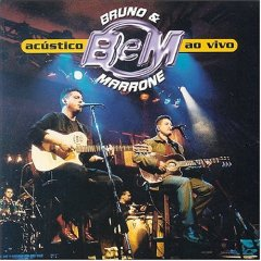 Capa do álbum Bruno e Marrone   Acústico Ao Vivo (2001)
