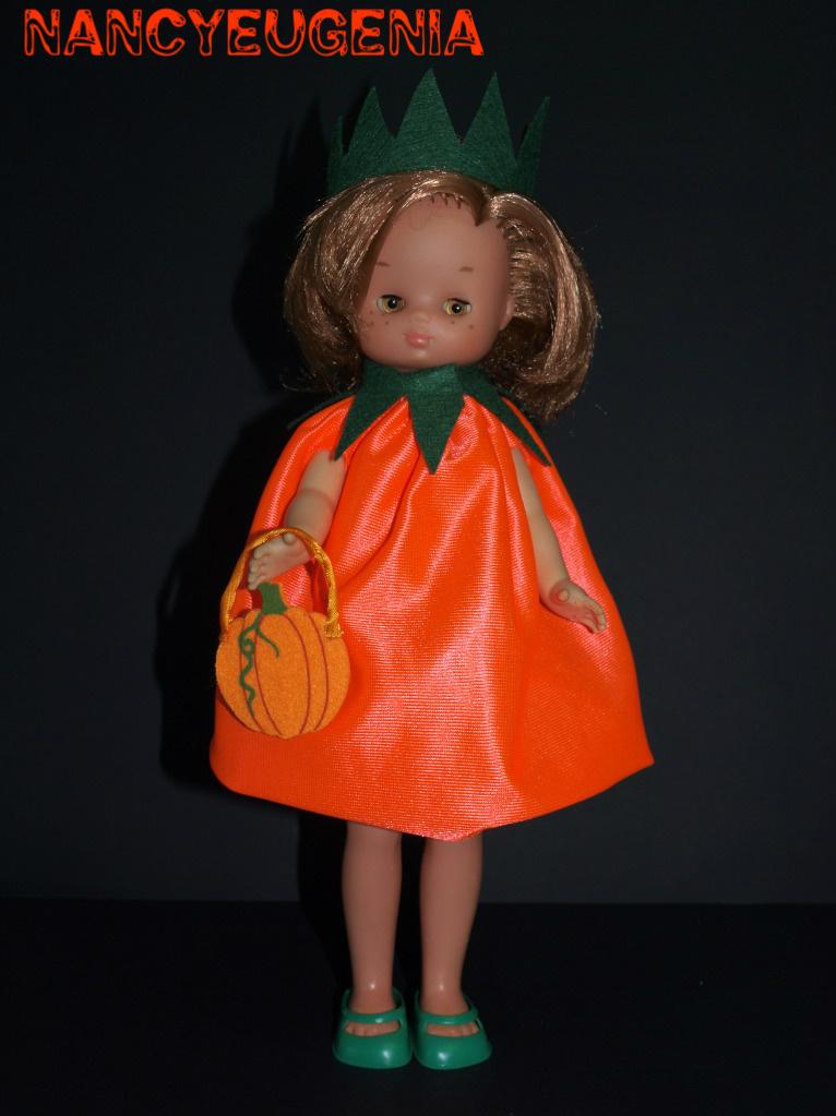 Nancy trajes halloween para nancy lesly y lucas - Trajes de calabaza ...
