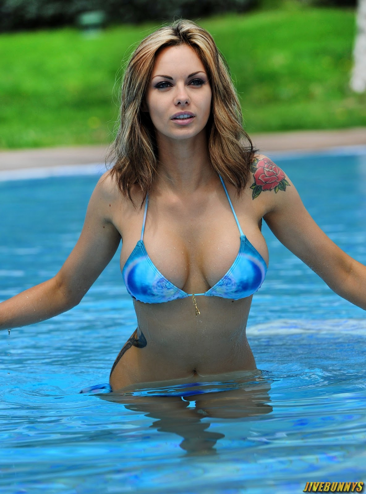 Jivebunnys Female Celebrity Picture Gallery Jessica Jane Clement Sexy