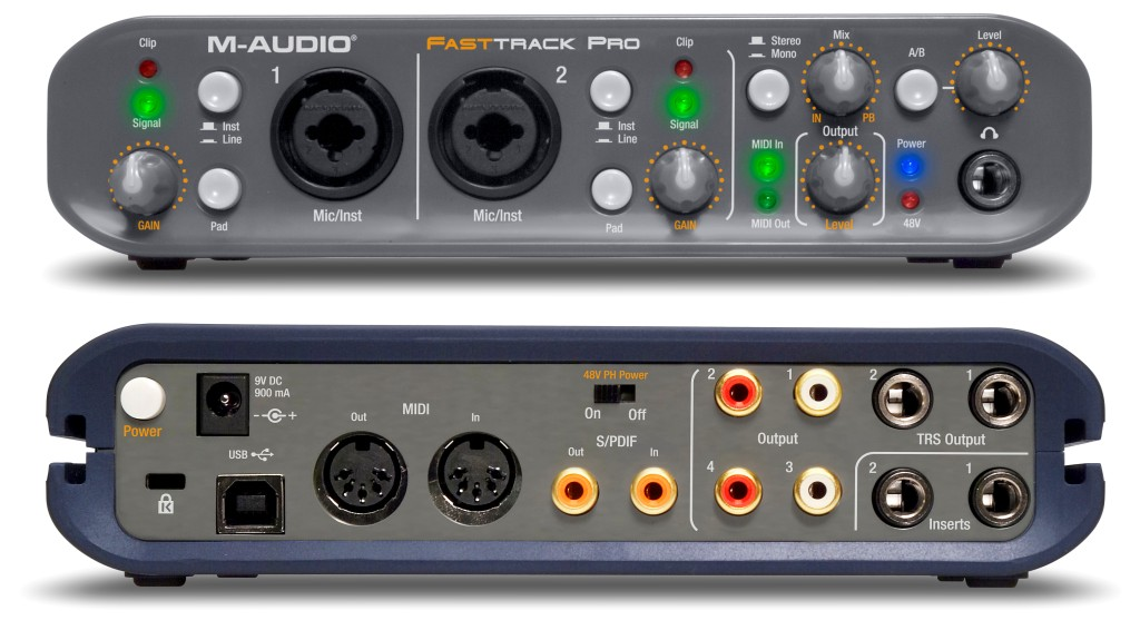 m-audio fast track ultra usb driver