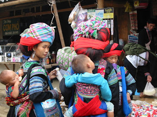 Muong Hum market - the unique corner of Sapa