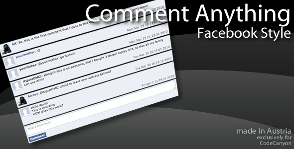 CodeCanyon   Comment Anything