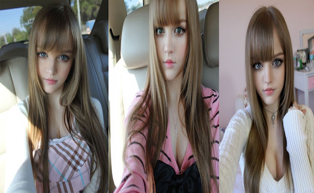 dakota rose cewek mirip barbie