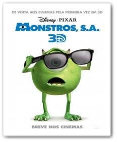Filme Monstros S. A. 3D Dublado Torrent
