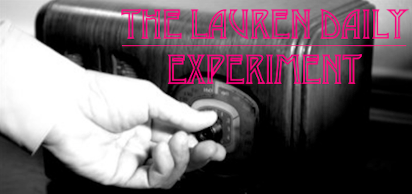 The Lauren Daily Experiment
