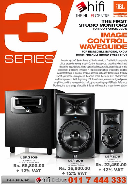JBL 3 Series Studio Monitors