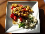 Teriyaki Pork Chops with Pineapple and Peppers