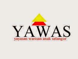Jawatan Kerja Kosong Yayasan Warisan Anak Selangor (YAWAS) logo www.ohjob.info