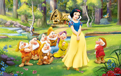 Snow White and Seven Dwarfs Disney Wallpapers