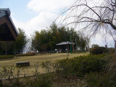 御茶屋御殿跡展望広場