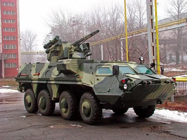 BTR-4 produksi Ukraina yang batal dibeli Kemenhan