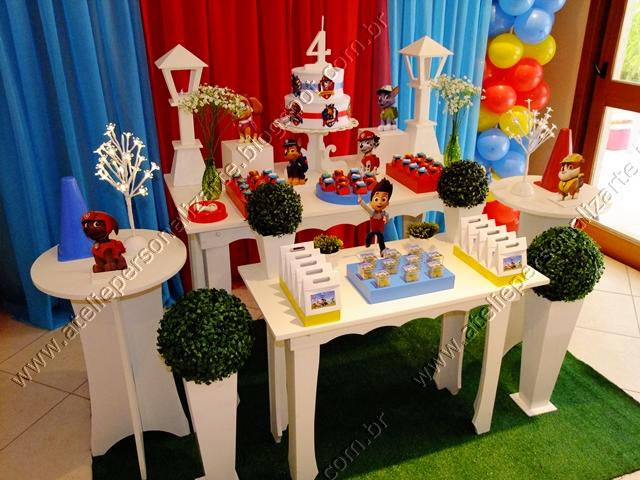 decoracao festa infantil patrulha canina:Decoração de festas, lembrancinhas personalizadas, bolos