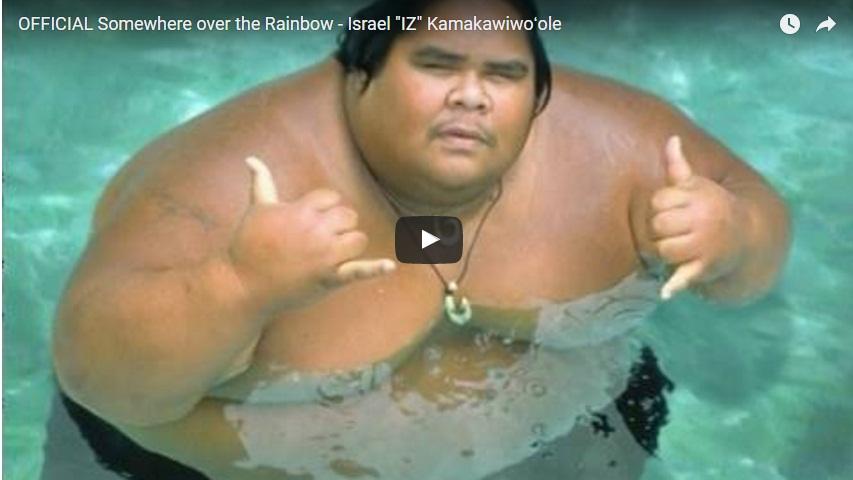 "Somewhere over the Rainbow - Israel ""IZ"" Kamakawiwoʻole"