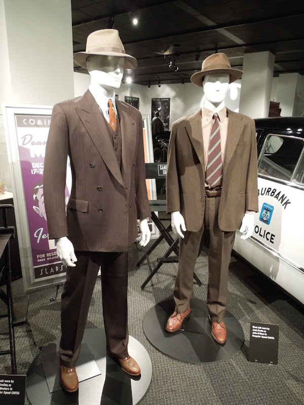 Ryan Gosling Josh Brolin Gangster Squad movie costumes