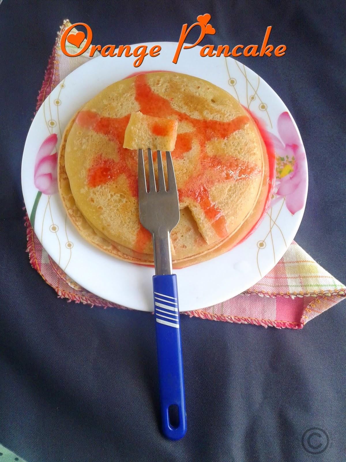eggless-orange-pancake-recipe