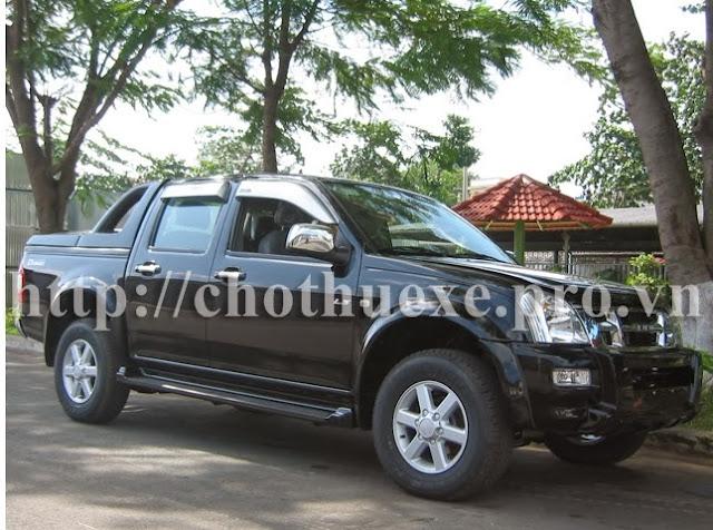 Cho thuê xe bán tải Dmax 2 cầu tại Hà Nội