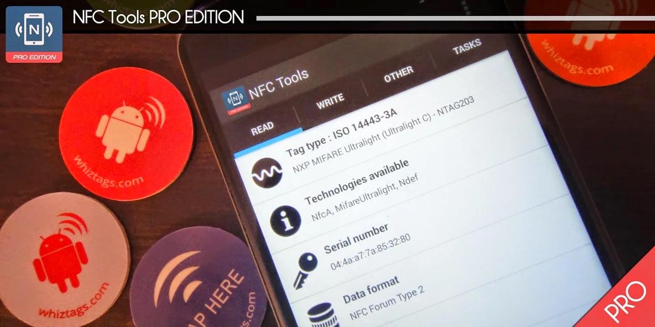 NFC Tools - Pro Edition v1.4 APK