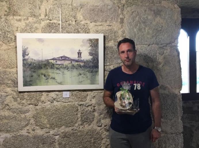I Premio. Maratón de Pintura. Alfoz. Lugo.