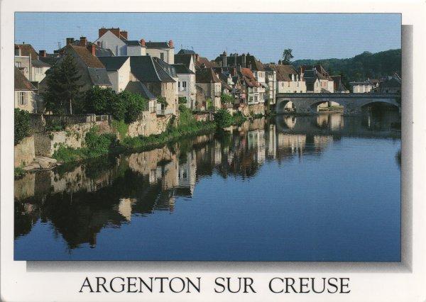 A postcard a day argenton sur creuse for Argenton sur creuse piscine