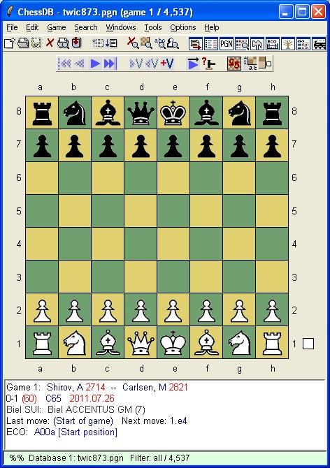 Newshutz Chess Journey: 2011
