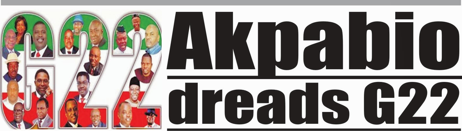 Akpabio dreads G22