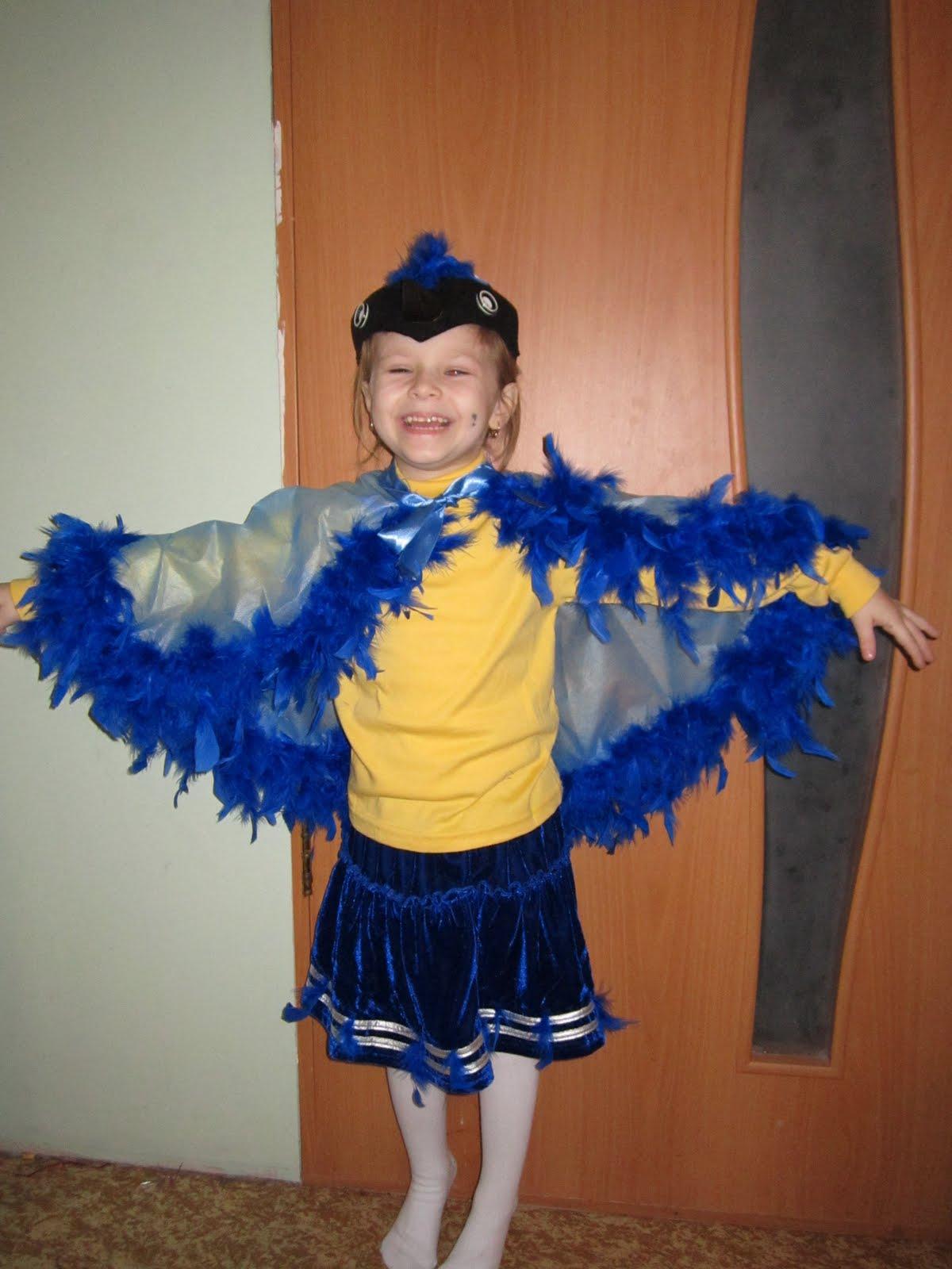 Костюм синичка