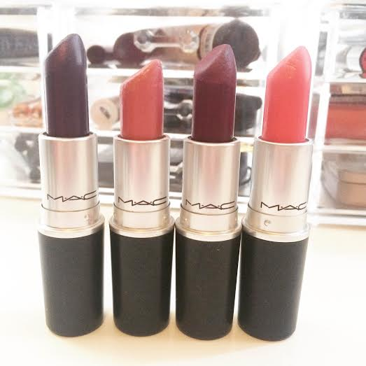 mac lipsticks laura hadley pure heroine rebel hot gossip speed dial chatterbox