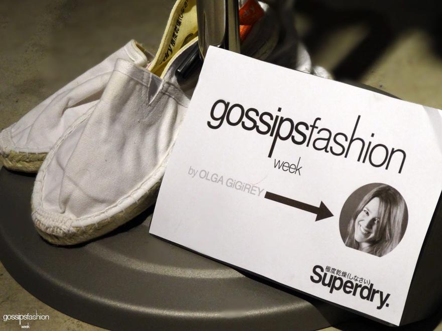 superdry olga gigirey gossipsfashionweek gossip fashion week