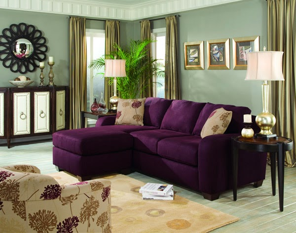 Will i regret buying a purple sofa this fairy tale life for Purple sofa