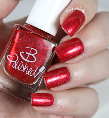 B Polished Red-Y for the Holodays